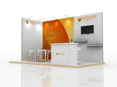 BOYALIFE Foreign Exhibition Design