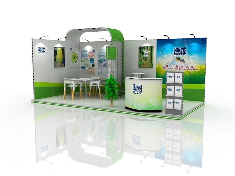 Yueheng Optical  Exhibition Design